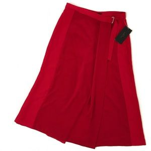 zara basic • nwt culotte pants w/ front flap